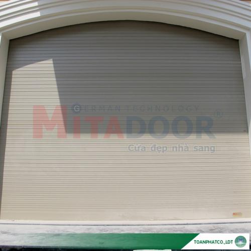 Cửa cuốn nhôm Mitadoor khe thoáng Vis 46R
