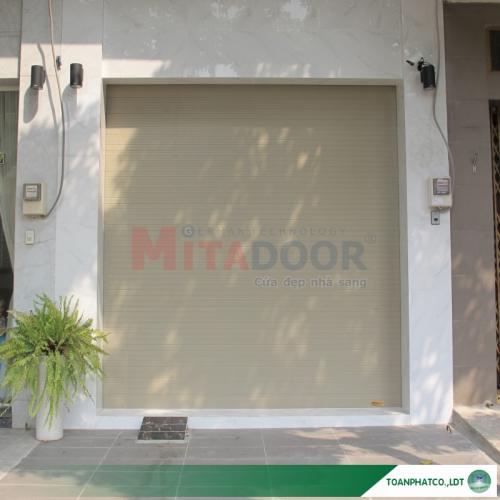 Cửa cuốn nhôm Mitadoor khe thoáng X50R